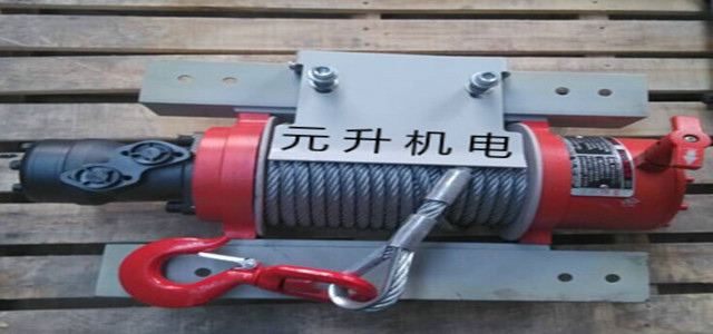 便攜式絞車卷揚機走進施工現場 市場無限